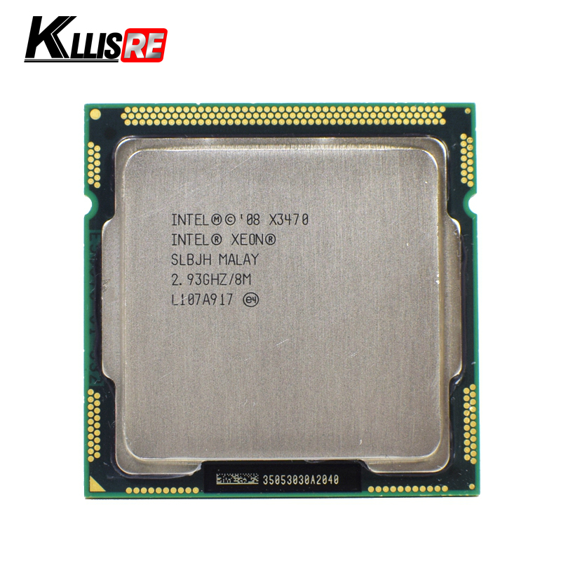 Xeon X3470 Processor 8M Cache 2 93 GHz SLBJH LGA1156 CPU Innrech Market.com