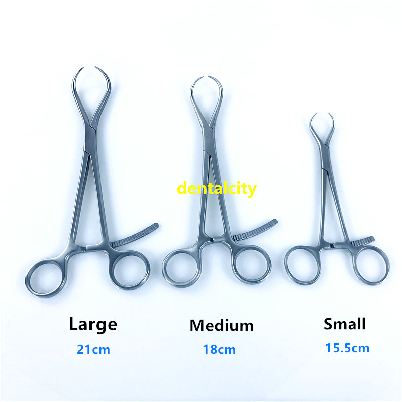 High Quality Stainless Steel Pointed Reduction Forceps Bone Forceps Orthopedics Instruments