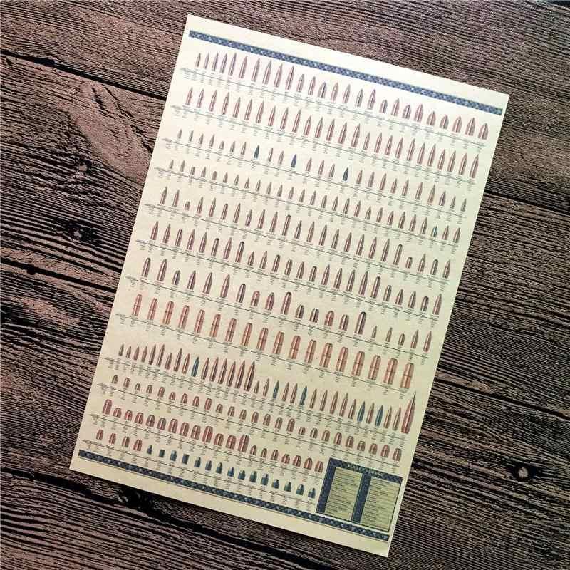 """حار بيع XQ-020 ديكور المنزل """"رصاصة جمع"""" كوادروس ديكور اللوحة خمر المشارك كرافت ورقة ل غرفة المعيشة 42x30 سنتيمتر"""