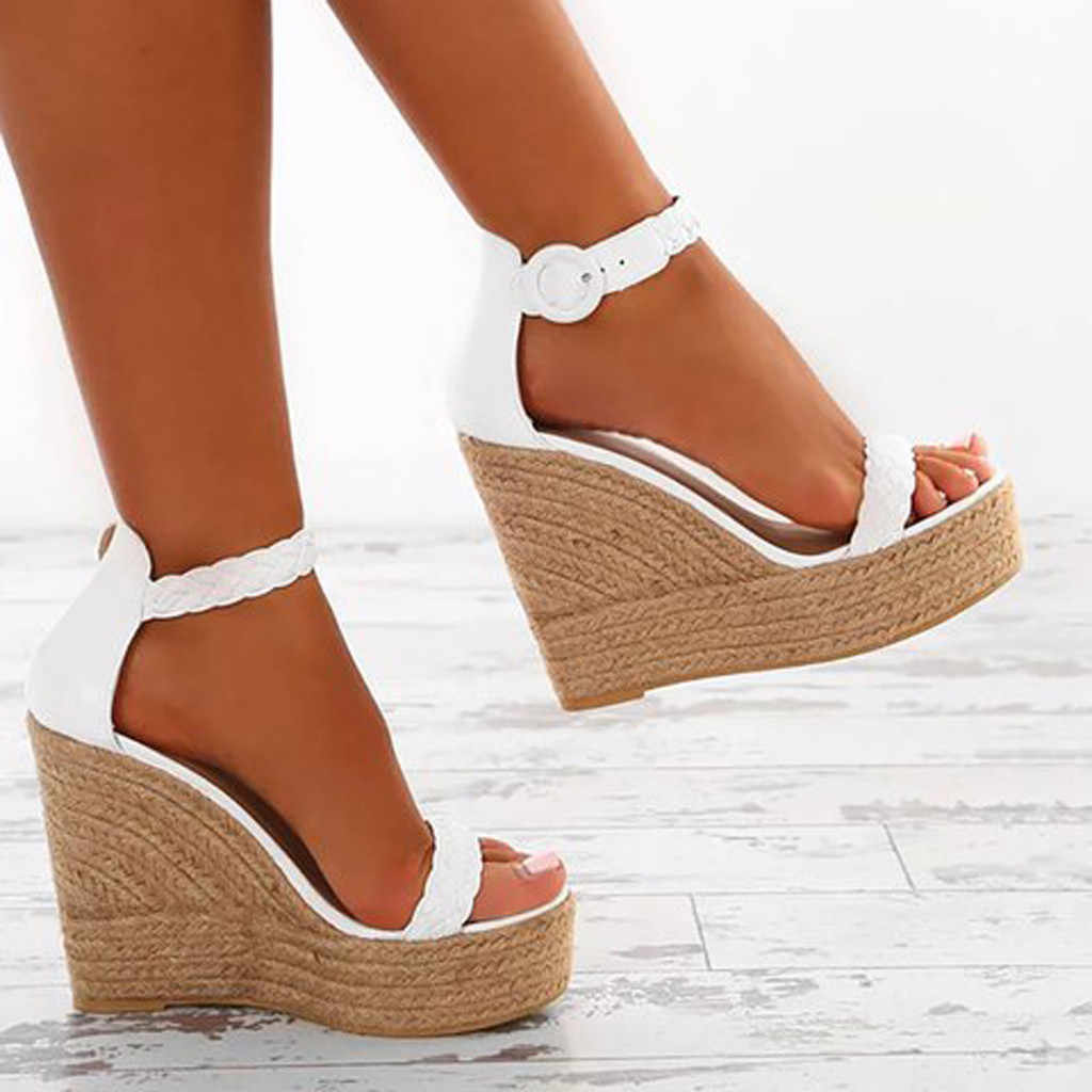 SAGACE Summer Wedges Pumps Sandals