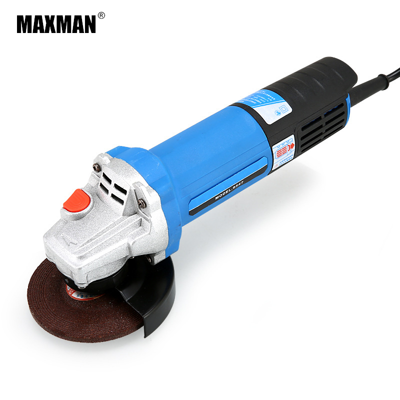 MAXMAN Electric Angle Grinder Grinding Power Tool Dremel Tool Polishing Machine Electric Tool for Grinding of Metal Woodworking maxman electric angle grinder 780w polisher grinding angular power tool for grinding of metal or woodworking machine