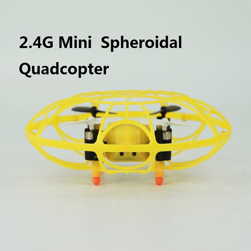 Mini Spheroidal Quadcopter 2.4G 4CH RC Drone with Light Mini Drone  Resistance to fall  Mini Spheroidal Quadcopter 2.4G 4CH RC Drone with Light Mini Drone  Resistance to fall