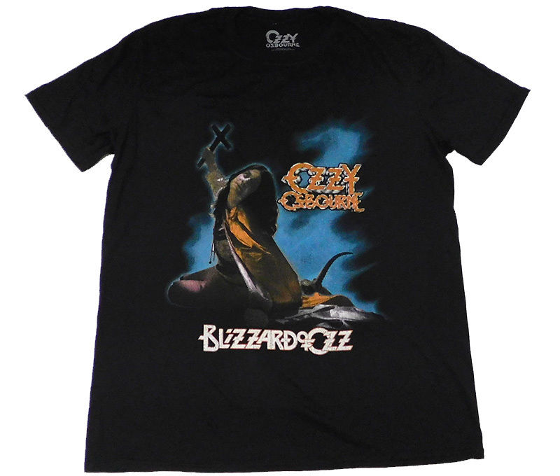 OZZY OSBOURNE Blizzard of Ozz official T shirt MEN LARGE