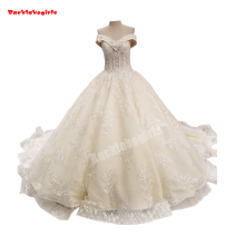 Backlakegirls Vintage Ball Gown Wedding Dress Bridal Gown