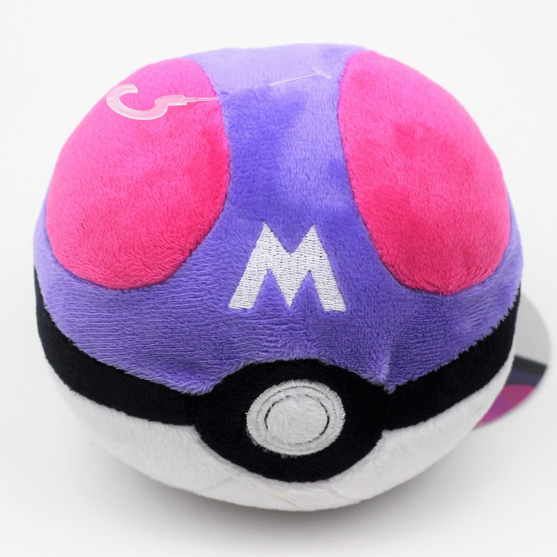 Image 2 - 6 Styles Pokeball High Quality Cute 12CM Plush Toys Cartoon Anime Stuffed Dolls Children Birthday Gift-in Action & Toy Figures from Toys & Hobbies