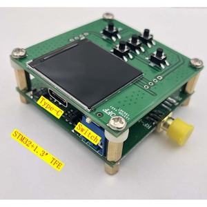 Image 3 - Lusya HMC833 25M 6GHZ RF signal source Phase locked loop Sweep source STM32 control Open source TFT T0101