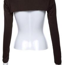Islamic-Jersey Muslim Shrug-Sleeve Cotton Bolero Modal-Cover Back-Shoulders Wholesale