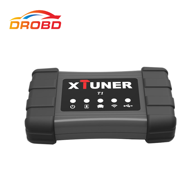 Newest Professional XTUNER T1 Heavy Duty Truck Auto Diagnostic Tool Scanner Diesel Car Support WIFI and USB Free Shipping