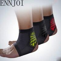 תמיכה בקרסול בטיחות ENNJOI Sl 4 צבעים להקת אבזר אלסטיים קרסול Brace משמר ספורט חדר כושר ריצת הגנה רגל תחבושת
