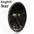 KnightX Star Filter 52mm 58mm 67mm 4 6 8 Punt Lijn voor Canon Nikon d3200 d5200 1200d 600d 100d t5i d5500750d t5 a57 lens DSLR