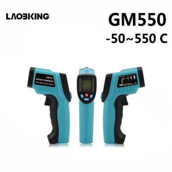 GM550-50 ~ 550 C Digitale infrarood Thermometer laser GM320-50-300 Temperatuur Gun Pyrometer Aquarium Emissiviteit Verstelbare