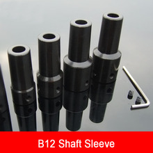B12 Drill Chuck Connection Rod Conversion Variable Diameter 5/6/8/10/12/14 Mm Motor Shaft Sleeve Rod Shaft Coupling