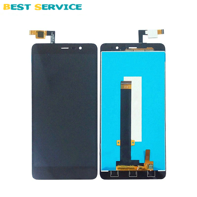 10Pcs/Lots For Xiaomi Redmi note 3 hongmi note 3 LCD Display with Touch Screen Digitizer Assembly Black White Gold Free shipping