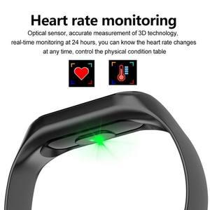 Image 3 - Цветной ЖК экран M3 смарт браслет монитор сердечного ритма кровяное давление фитнес трекер Смарт браслет для спорта PK mi Band 3