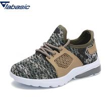 Jabasic Children Casual Shoes 2019 Brand New Camouflage Air Mesh Breathable Kids Boys Basketball Sneakers Scarpe Bambini