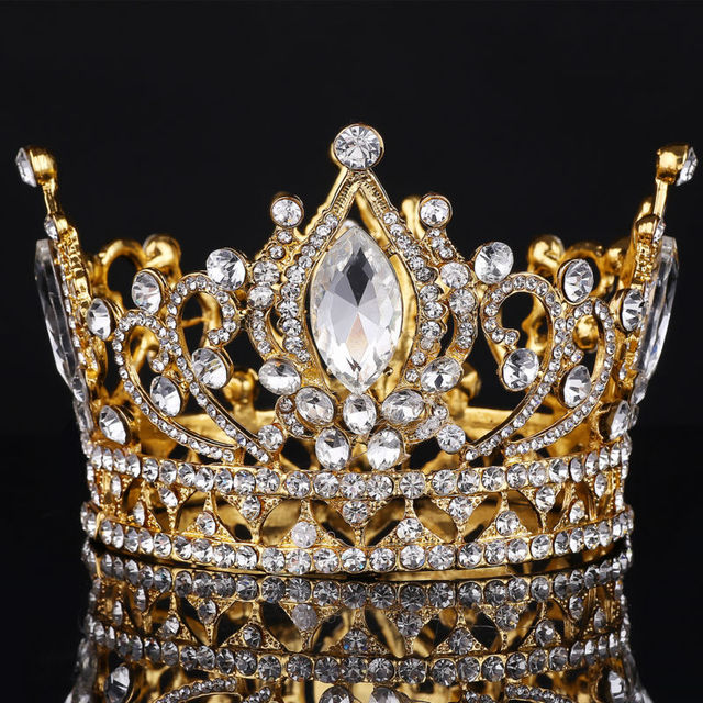 Buy Big European Royal Crown Golden
