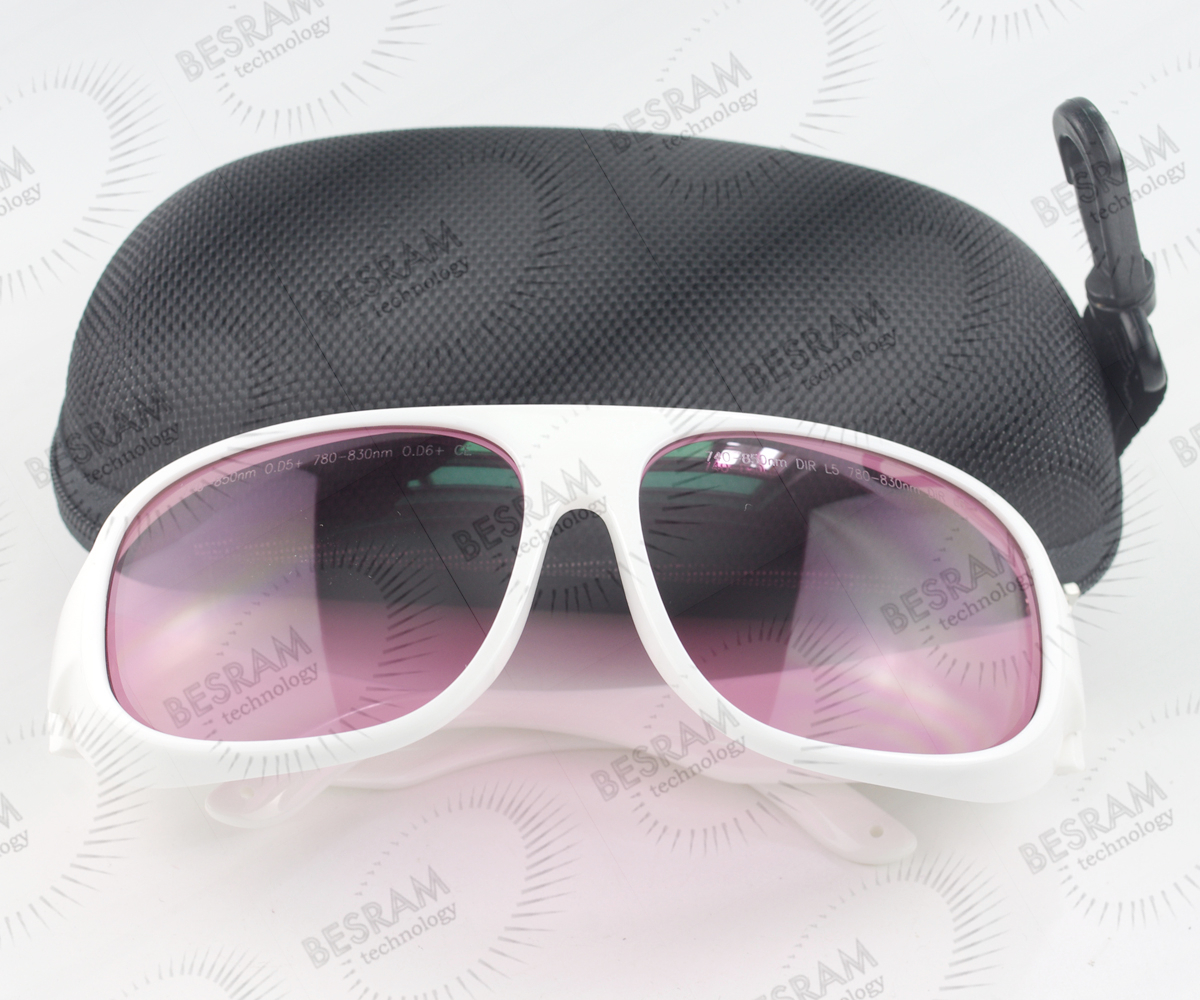 740nm-850nm OD5+ 780nm830nm OD6+ Laser Protective Goggles Safety Glasses 52# CE 800nm 1700nm od4 900nm1100nm od5 laser protective goggles safety glasses 52