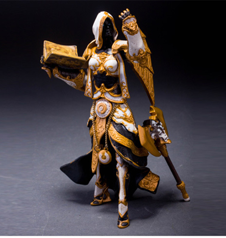Wow Action Figure DC Unlimited Series 3 7 inch Human Priestess [Sister Benedron] WOW PVC Toy Figure Free shipping GS013