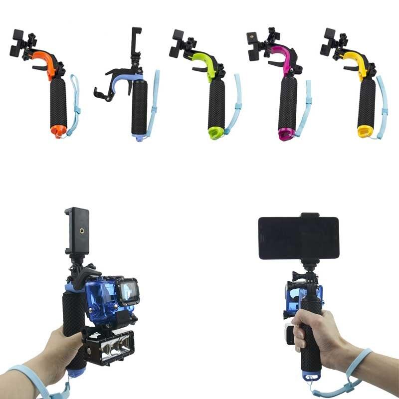 Universal Selfie Sticks flotante empuñadura de mano + pistola disparador estabilizador Kit para GoPro Hero 5 Hero 4 Hero 3 GDeals