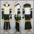 Anime Vocaloid Kagamine Rin Cosplay Costume