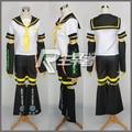 Anime Vocaloid Kagamine Rin Cosplay Costume