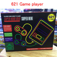 5 50PCS Child HDMI HD Handheld Gaming Player 8 bit Games Video Game Consoles Built in 621 Games For Children Classic Retro games