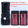 New 20000 Lumens High Power 10T6 LED 10 X CREE XM L T6 LED Flashlight Torch