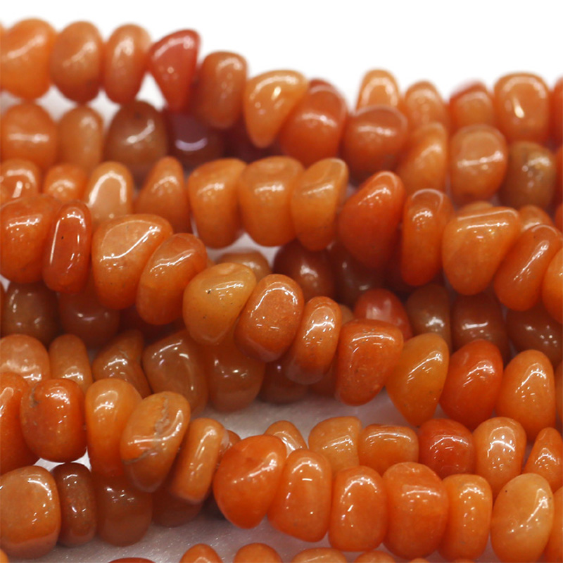 Jewelry & Accessories Methodical Discount Wholesale Natural Genuine Orange Red Aventurine Jade Nugget Loose Beads Free Form Beads 6x9mm Fit Jewelry 15 03875 Moderate Price Fine Jewelry