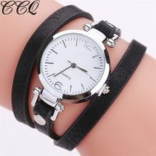 CCQ Fashion Luxury Leather Bracelet Watch Ladies Quartz Watch Casual Women Wrist Watch Relogio Feminino Drop Shipping 2116