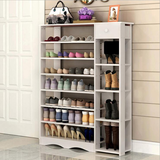 Incroyable Modern Shoe Rack Organizador De Zapatos Storage Cabinet For Living Room  Bedroom Wooden Shoe Cabinet Home