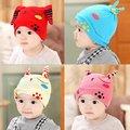 Милый Ребенок Малыш Мальчик в Девочке Малыш Новорожденного младенца Хлопка Шапочки Удобные Hat Cap 6-24 М X16