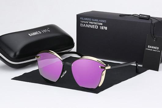 BANNED 1976 Luxury Women Sunglasses Fashion Round Ladies Vintage Retro Brand Designer Oversized Female Sun Glasses oculos gafas 10