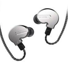 BQEYZ KB1 1BA + 2DD الهجين محرك المعادن في الأذن سماعة HIFI DJ Monito تشغيل سماعة أذن تستخدم عند ممارسة الرياضة سدادة الأذن سماعة 2Pin انفصال