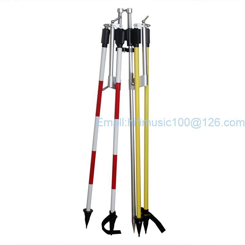 CLS12 Prism Pole Bipod with Case for Total StationCLS12 Prism Pole Bipod with Case for Total Station