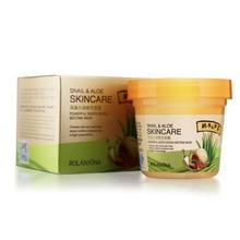 Snail Cream Aloe Extract Moisturizing Sleeping Mask Washing-free Mask Hydrating Aloe Cream Nourish Repair Anti-Acne Fade Spots