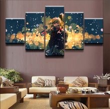 Your Lie in April Anime Wall Art Canvas Painting HD Print 5 Piece For Living Room Home Decor Picture