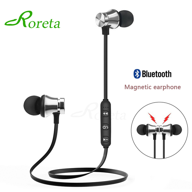XT11 Magnetic mini Wireless Earphone with Mic for iPhone Samsung In-ear Bluetooth Earphones Noise Reduction Sports Headset