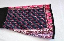 Women Dress Abaya Patchwork Long Sleeve Plus Size 5XL Robe
