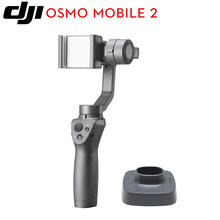 DJI Osmo Mobile 2 3-Axis Handheld Stabilizer for smart phone 3-axis gimbal Stent Zoom Control | Panorama(China)
