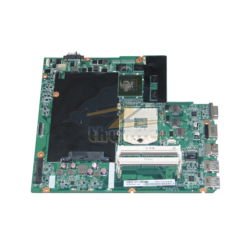 NOKOTION DA0LZ3MB6G0 90000109 For Lenovo ideapad Z580 Laptop Motherboard HM76 DDR3 GT630M 1GB suitable for lenovo z580 motherboard da0lz3mb6g0 gt630m hm76 system mainboard original new