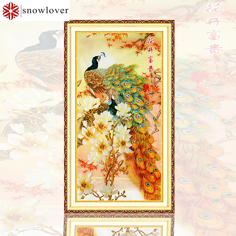 Snowlover,Needlework,Embroidery,DIY animall Painting,Cross stitch,kits,9ct 11ct Branches bird Cross-stitch,Sets For Embroidery