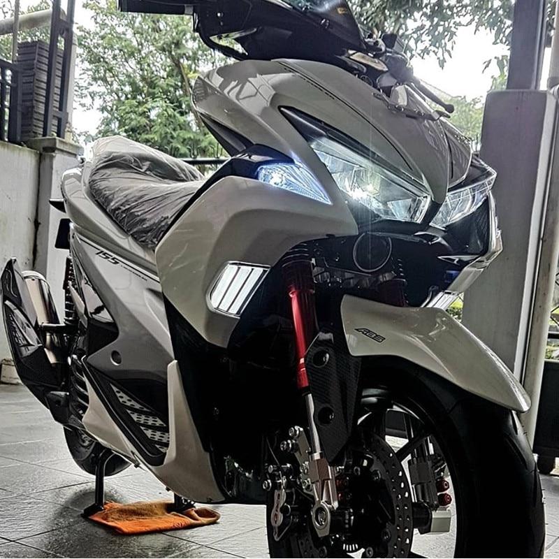 Modified Motorcycle NVX Aerox Gdr155 L155 Nvx Turn Signal Lamp Light Led Front Turning Light For Yamaha NVX155 GDR155 L155