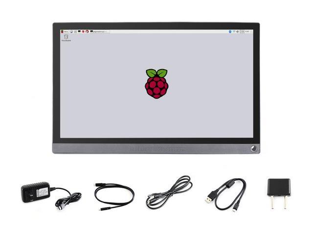 Waveshare 15.6inch Universal Portable Touch Monitor 1920*1080 Full HD IPS HDMI/Type C Ideaal Metgezel voor EU landen