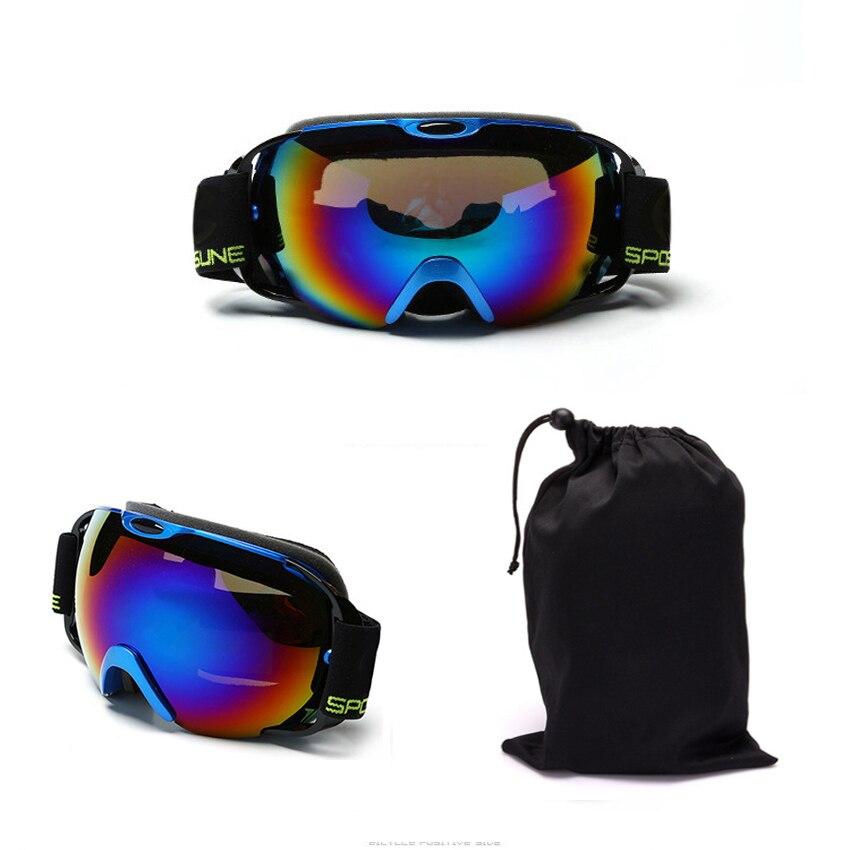Professional upmarket ski glasses ski goggles double layers UV400 anti-fog big ski mask glasses skiing snowboard goggles box-04