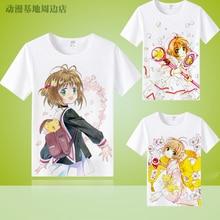 Card Captor Sakura familia camisas Madre Padre camisas mujeres hombres niño  niña KID niño niños COSPLAY camiseta ropa d7fa1b0d7801