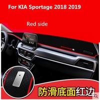 Car dashboard Avoid light pad Instrument platform desk cover Mats Carpets LHD For KIA Sportage 2018 2019
