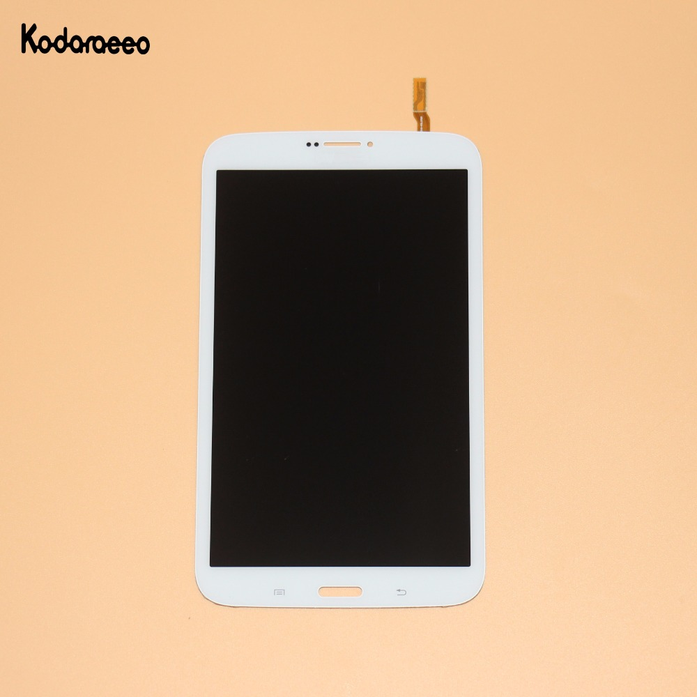 kodaraeeo For Samsung Galaxy Tab 3 8.0 SM-T311 T311 Touch Screen Digitizer Glass+LCD Display Assembly Panel Replacement White fujitsu limited used for touch screen glass 10 0551 t311 8 4