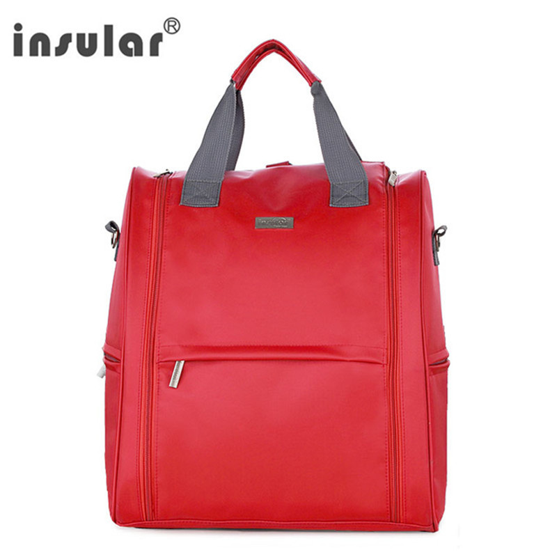 Insular Diaper Bag Organizer Backpack Brand Nappy Bags Baby Travel Maternity Bags For Mother Baby Stroller Bag Diaper Handbag купить в Москве 2019