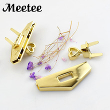 2Pcs Fashion Metal Alloy Twist Turn Lock For Women Bag Snap Clasps DIY Handbags Buckles Accessories KY2138