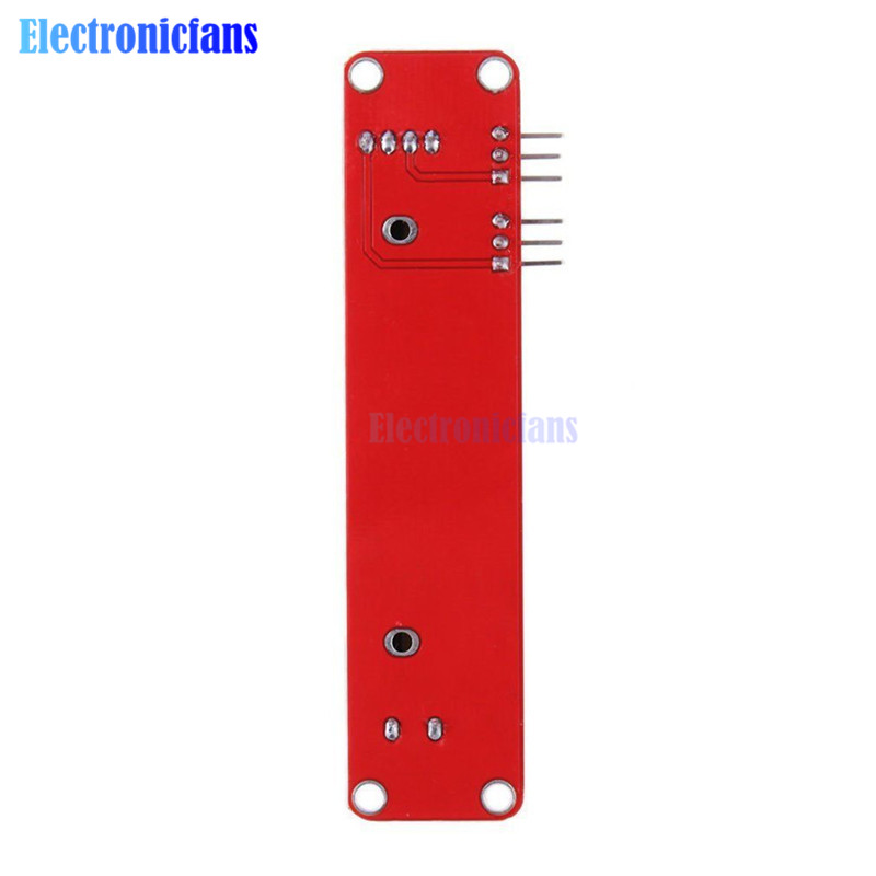 Potenciômetro deslizante, módulo linear 10k, saída dupla para arduino avr bloco eletrônico